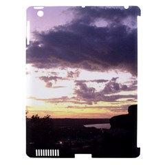 Sunset Over The Valley Apple iPad 3/4 Hardshell Case (Compatible with Smart Cover)