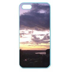 Sunset Over The Valley Apple Seamless Iphone 5 Case (color)