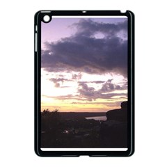 Sunset Over The Valley Apple iPad Mini Case (Black)