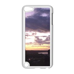 Sunset Over The Valley Apple iPod Touch 5 Case (White)