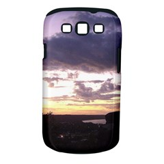 Sunset Over The Valley Samsung Galaxy S III Classic Hardshell Case (PC+Silicone)