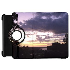 Sunset Over The Valley Kindle Fire HD 7  (1st Gen) Flip 360 Case