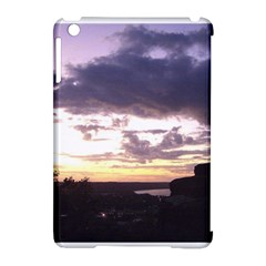 Sunset Over The Valley Apple Ipad Mini Hardshell Case (compatible With Smart Cover)