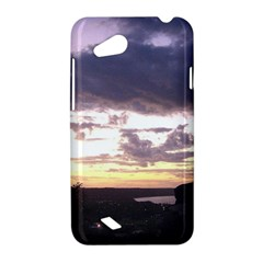 Sunset Over The Valley HTC Desire VC (T328D) Hardshell Case