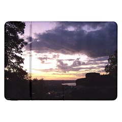 Sunset Over The Valley Samsung Galaxy Tab 8.9  P7300 Flip Case