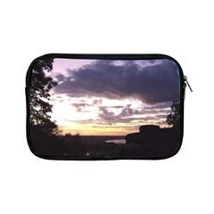 Sunset Over The Valley Apple iPad Mini Zippered Sleeve