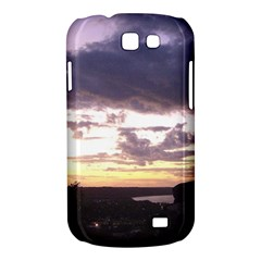 Sunset Over The Valley Samsung Galaxy Express I8730 Hardshell Case
