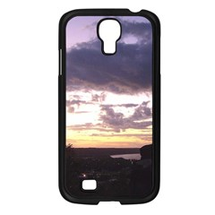 Sunset Over The Valley Samsung Galaxy S4 I9500/ I9505 Case (black)