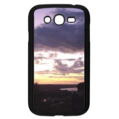 Sunset Over The Valley Samsung Galaxy Grand DUOS I9082 Case (Black)