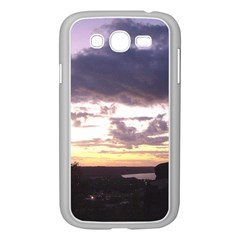 Sunset Over The Valley Samsung Galaxy Grand DUOS I9082 Case (White)