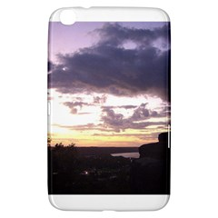 Sunset Over The Valley Samsung Galaxy Tab 3 (8 ) T3100 Hardshell Case