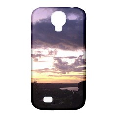 Sunset Over The Valley Samsung Galaxy S4 Classic Hardshell Case (PC+Silicone)