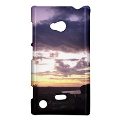 Sunset Over The Valley Nokia Lumia 720 Hardshell Case