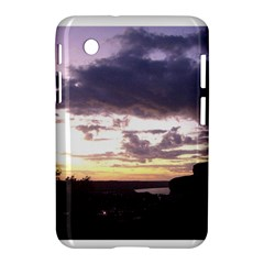Sunset Over The Valley Samsung Galaxy Tab 2 (7 ) P3100 Hardshell Case