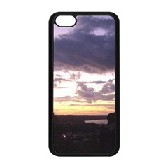 Sunset Over The Valley Apple iPhone 5C Seamless Case (Black)