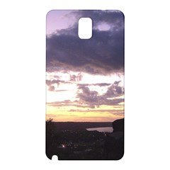 Sunset Over The Valley Samsung Galaxy Note 3 N9005 Hardshell Back Case