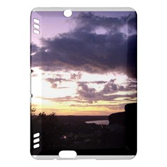 Sunset Over The Valley Kindle Fire HDX 7  Hardshell Case