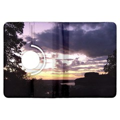 Sunset Over The Valley Kindle Fire Hdx 7  Flip 360 Case