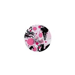 Fantasy In Pink 1  Mini Button