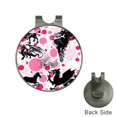 Fantasy In Pink Hat Clip with Golf Ball Marker