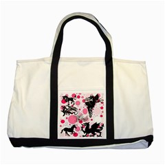 Fantasy In Pink Two Toned Tote Bag
