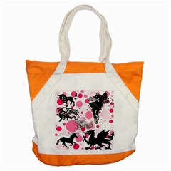 Fantasy In Pink Accent Tote Bag