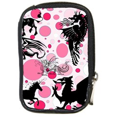 Fantasy In Pink Compact Camera Leather Case
