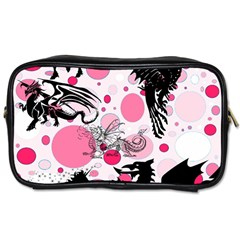 Fantasy In Pink Travel Toiletry Bag (two Sides)