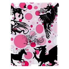 Fantasy In Pink Apple iPad 3/4 Hardshell Case (Compatible with Smart Cover)