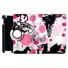 Fantasy In Pink Apple Ipad 2 Flip 360 Case