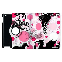 Fantasy In Pink Apple iPad 3/4 Flip 360 Case