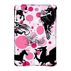 Fantasy In Pink Apple iPad Mini Hardshell Case (Compatible with Smart Cover)