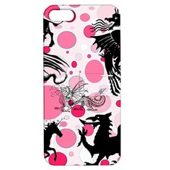 Fantasy In Pink Apple Iphone 5 Hardshell Case With Stand