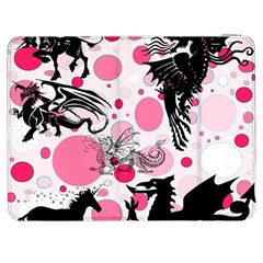 Fantasy In Pink Samsung Galaxy Tab 7  P1000 Flip Case