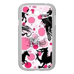 Fantasy In Pink Samsung Galaxy Grand DUOS I9082 Case (White)