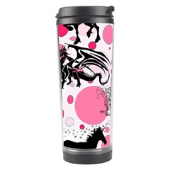 Fantasy In Pink Travel Tumbler