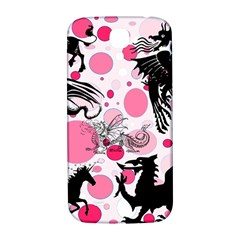 Fantasy In Pink Samsung Galaxy S4 I9500/i9505  Hardshell Back Case
