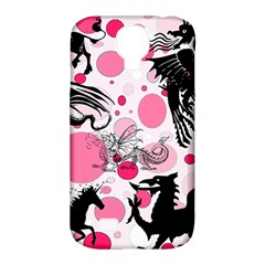 Fantasy In Pink Samsung Galaxy S4 Classic Hardshell Case (PC+Silicone)