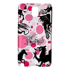 Fantasy In Pink Samsung Galaxy Note 3 N9005 Hardshell Case