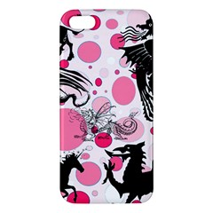 Fantasy In Pink iPhone 5S Premium Hardshell Case