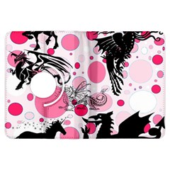 Fantasy In Pink Kindle Fire HDX 7  Flip 360 Case