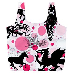 Fantasy In Pink Reusable Bag (XL)