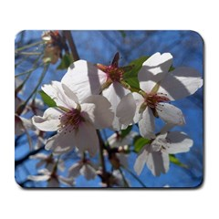 Cherry Blossoms Large Mouse Pad (Rectangle)