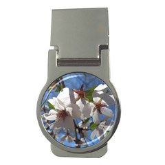 Cherry Blossoms Money Clip (Round)