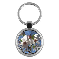 Cherry Blossoms Key Chain (round)