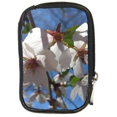 Cherry Blossoms Compact Camera Leather Case