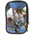 Cherry Blossoms Compact Camera Leather Case Front