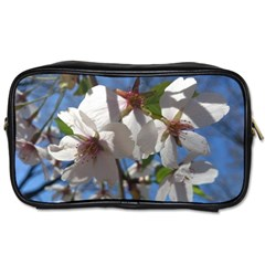 Cherry Blossoms Travel Toiletry Bag (one Side)