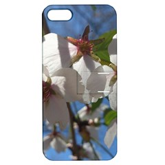 Cherry Blossoms Apple Iphone 5 Hardshell Case With Stand
