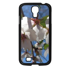 Cherry Blossoms Samsung Galaxy S4 I9500/ I9505 Case (Black)
